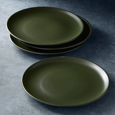 Open Kitchen by Williams Sonoma Matte Coupe Dinner Plates, Set of 4 #williamssonoma