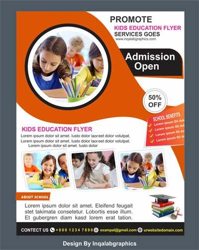 Education Brochure Templates Free Vector Photo And Cdr File School Brochure Design Free Download Free Brochure Template Education Brochures School Brochure