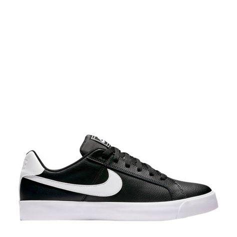 Nike Court Royale AC leren sneakers zwartwit in 2020