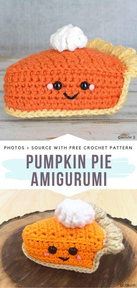 Crochet Cupcake, Crochet Food, Crochet Bear, Cute Crochet, Crochet Crafts, Crochet Birds, Crochet Animals, Crochet Fruit, Kawaii Crochet