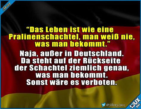 Nichts darf dem Zufall überlassen werden! #Deutschland #typischDeutsch #Leben #lustig #Humor #Sprüche