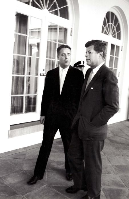 JFK with Sargent Shriver.