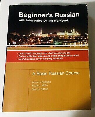 Beginner S Russian With Interactive Online Workbook A Basic Russian Course Ebay Workbook Beginners Online