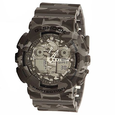 G-Shock Men's GA-100 Camouflage Watch, Grey, One Size Casio https://www.amazon.com/dp/B00OAPHR3E/ref=cm_sw_r_pi_dp_lVKGxbQ21J02X