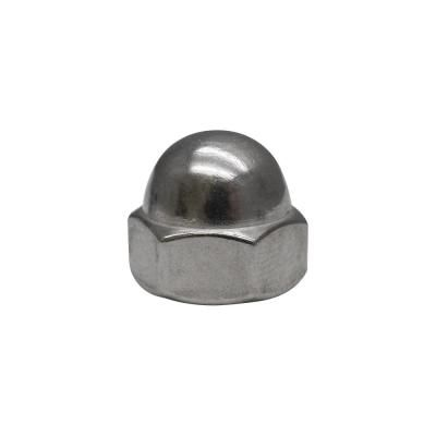 Everbilt 1 4 In 20 Stainless Steel Cap Nut 800281 Steel Stainless Steel Steel Material