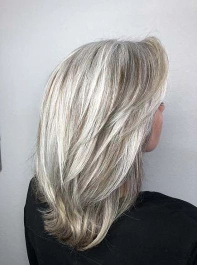 long grey lace front wig – Shebelt mall