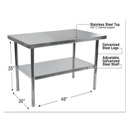 Industrial Scientific Stainless Steel Table Table Furniture