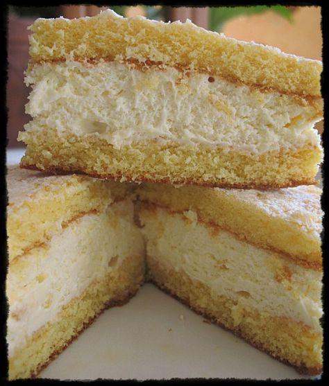 dolce morbido di ricotta e pera - cake cheese and pears