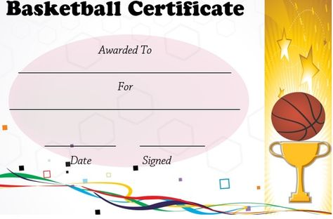 Basketball Camp Template basketball camp certificate template ...