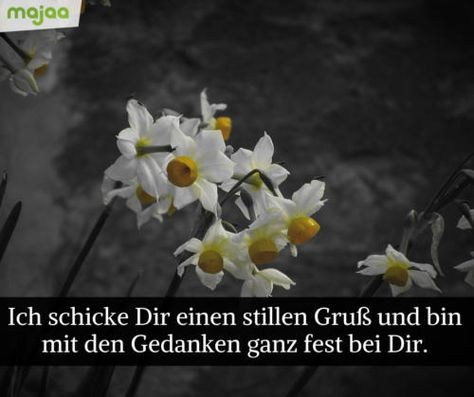"""In Gedanken bei Euch"" Doppelkarte Trauerkarte Beileidskarte Kondolenzkarte"