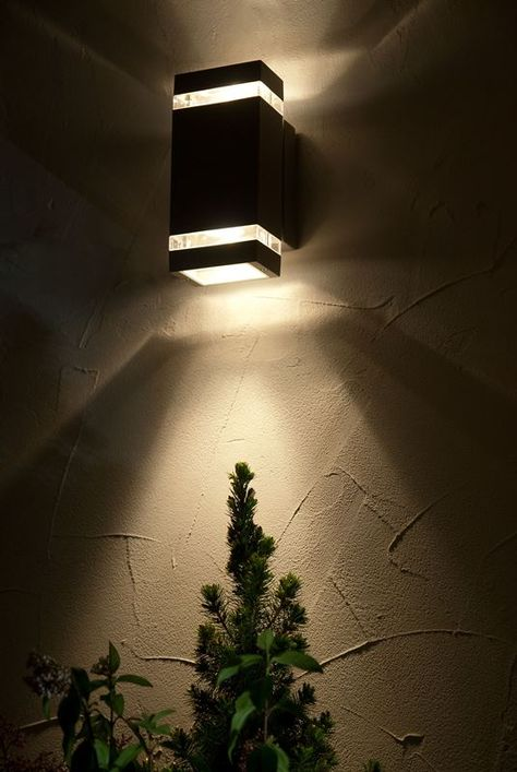 Focus Led Up And Down Wall Light Outdoor Lights