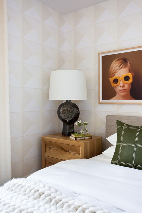 Light Modern Bedside Vignette