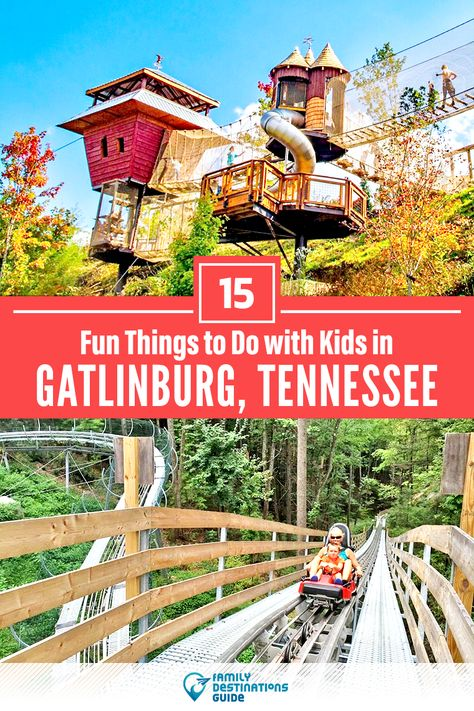 Dreaming about a family vacation to Gatlinburg, TN and looking for things to do? We're FamilyDestinationsGuide, and we're here to help: Discover the most fun things to do in Gatlinburg with kids - so you get memories that last a lifetime! #gatlinburg #gatlinburgthingstodo #gatlinburgwithkids #gatlinburgactivities