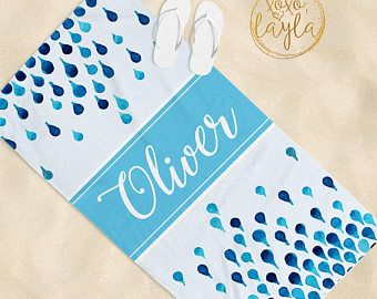Beach Towel Beach Towels Personalized Beach Towels For Kids