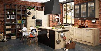 каталог кухонь Lorena мебельная компания Lorena кухни лофт