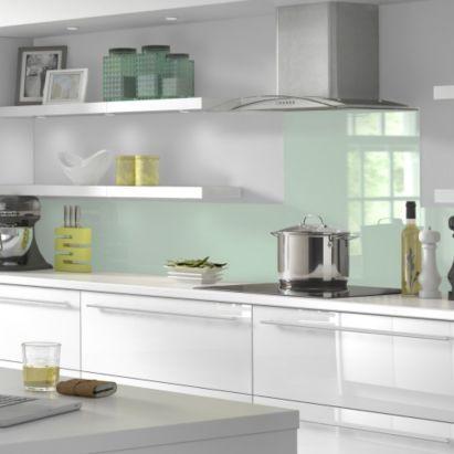 Vistelle Kitchen Splashback X X Mm Glacier - Acrylic kitchen splashbacks