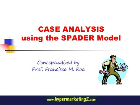 Case Analysis Use of SPADER Approach for Philips Lighting - case analysis