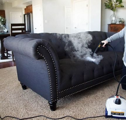 How To Steam Clean A Couch Microfiber Couch Steam Clean Couch