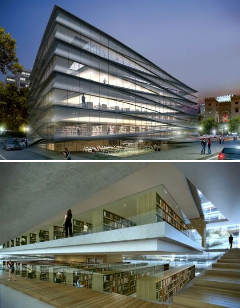 Modern Architecture Library competition entry: sang-uk & heeyun's proposal for copenhagen's