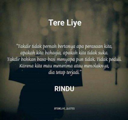 Quotes Indonesia Tere Liye Rindu 65 Ideas Quotes Kata Kata