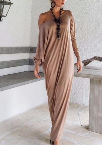 Brown Maxi Long Sleeve Dress   Brown Kaftan   by SynthiaCouture   lucimar  ferreira   Pinterest   Maxi long sleeve dress, Kaftan and Sleeved dress f21be5b7c3