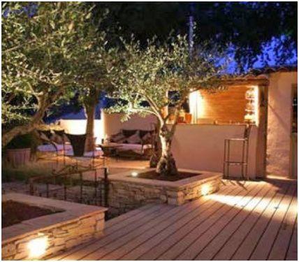 8 A Couper Le Souffle Lumiere Exterieur Terrasse Eclairage Exterieur Terrasse Amenagement Jardin En Pente Lumiere Terrasse
