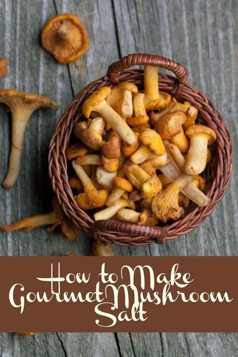 Gourmet Mushroom Salt Recipe and 25 other homemade food gifts you can give on  budget. Includes jam, fudge, roasted nuts, flavored sugars, and more!