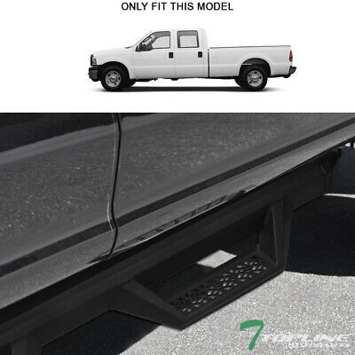 Sponsored Ebay Topline For 1999 2016 F250 F350 Crew Aluminum Hoop Drop Step Bars V2 M In 2020 Toyota Tacoma Double Cab Ford Explorer Sport Nissan Frontier Crew Cab