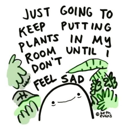 Really how I handle my depression 😂 : IndoorGarden