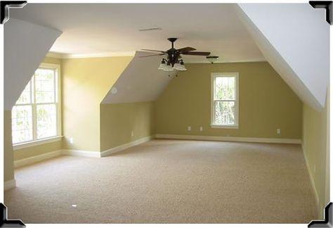 Garage loft conversion on pinterest bonus rooms attic for How much to add a garage with bonus room