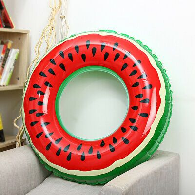Ad Outlife Watermelon Inflatable Adult Kids Swimming Ring Inflatable Pool Float Pool Floats For Adults Inflatable Pool Floats Pool