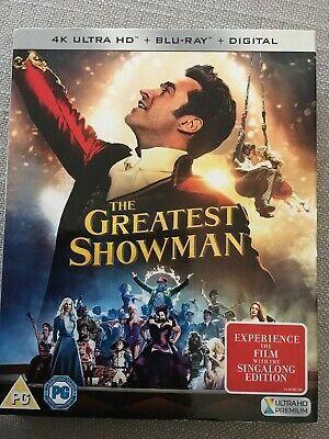 The Greatest Showman 4k Ultra Hd Blu Ray 2 Disc Includes Digital Download The Greatest Showman Blu Ray Greatful