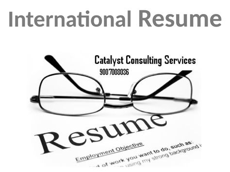9 best International Resume maker in kolkata images on Pinterest - resumer