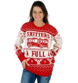 Women's National Lampoon Vacation Shitter's Full Sweater