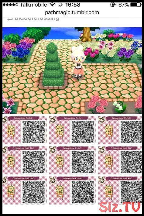 Image Result For Acnl Path Patterns Acnl Paths Animal Crossing