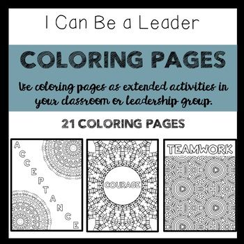 Leadership Coloring Pages Coloring Pages Leadership Activities