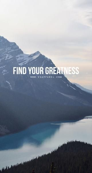Bolsa Grapa Sede  Find your greatness. | Motivation, Words wallpaper, Inpirational quotes