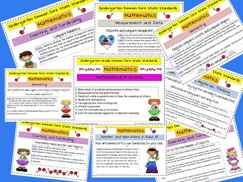 Def going to be needing/using this next year!!!  Common Core State Standards Kindergarten Free Printable Download