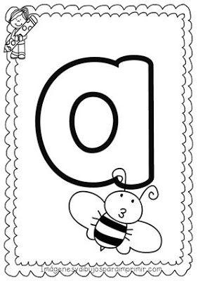 Pin On Vocales Para Preescolar