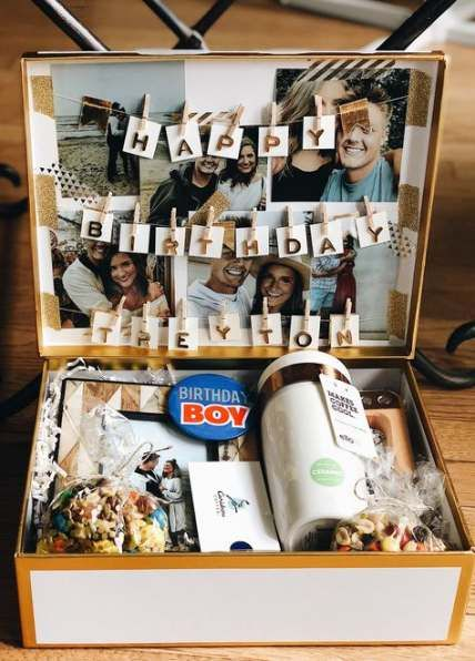 15 Ideas Birthday Surprise Box Ideas Friends Birthday Cute