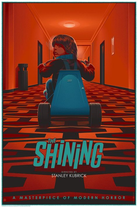 The Shining (1980) [1100 x 1650] #filmposters