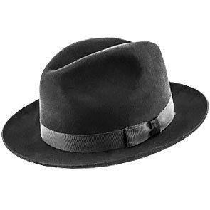 CHRISTYS/' OF LONDON FUR FELT TRILBY FEDORA HAT