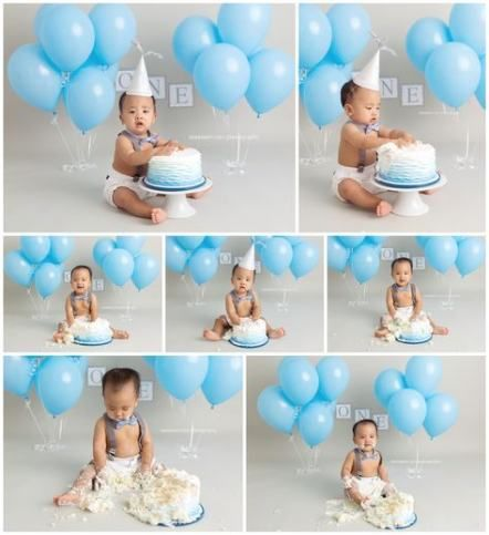 Baby Boy Cake Smash 31 Ideas Cake Baby With Images Smash
