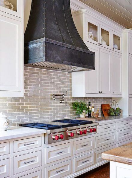 Farmhouse Kitchen Black And White Range Hoods 24 Ideas Kitchen Farmhouse Kitchen Range Hood Kitchen Vent Kitchen Vent Hood