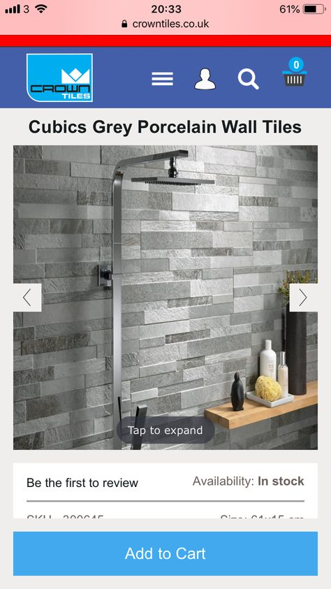 Pin By Anna On Bathroom En Suite Porcelain Wall Tile Tiles For Sale Wall Tiles