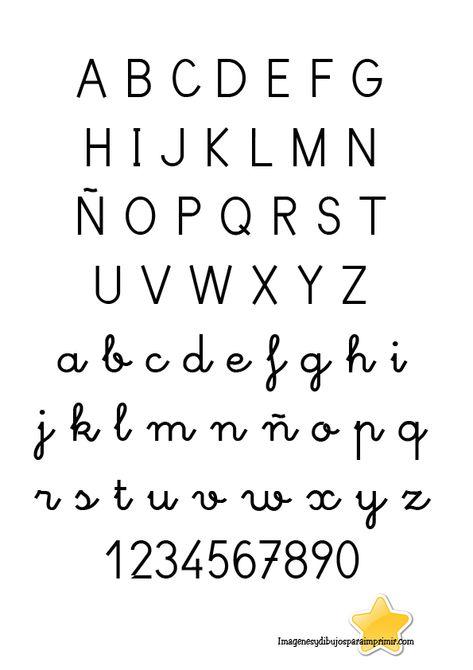 Letras Para Calcar Letras Para Calcar Tipos De Letras