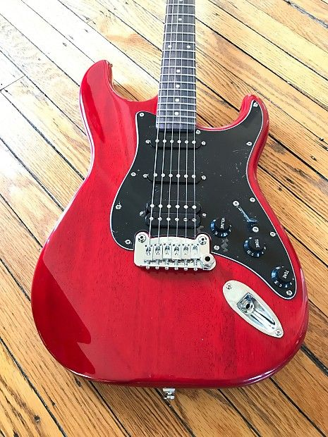 G L Tribute Series Legacy Candy Apple Red W Matching Headstock Reverb Legacy Tribute Guitar