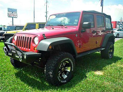 2007 Jeep Wrangler Unlimited X Black Small Luxury Cars 2007