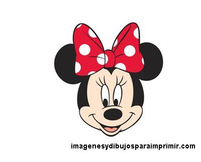 Cara De Minnie Mouse Caritas De Minnie Dibujo De Minnie Cara