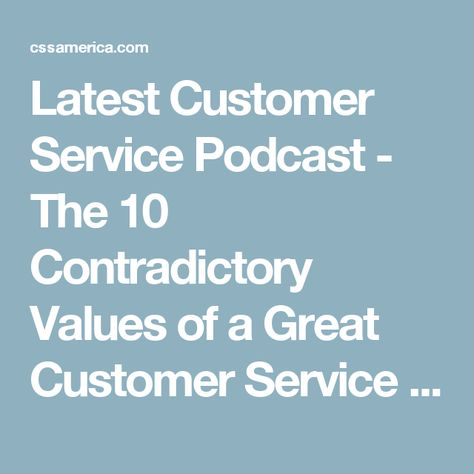 Itu0027s About Leadership and Appreciation - Customer Service Tip of - sprint customer care